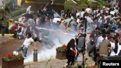 İstanbulda etiraz aksiyası
