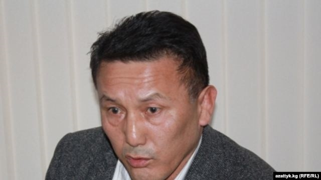 The arrested man's father, Turatbek Madylbekov (pictured), chairs the Kyrgyz parliament's anticorruption committee.