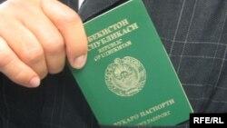 Өзбек паспорту