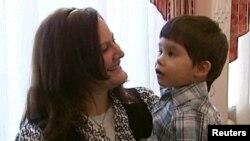 3-летний мальчик из России Денис в американской приемной семье