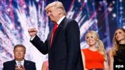 Дональд Трамп на съезде Республиканской партии