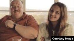 Каха Бендукидзе и Анастасия, которая называет себя его дочерью