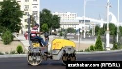 Ашхабад готовится к Азиатским играм , июль, 2017.