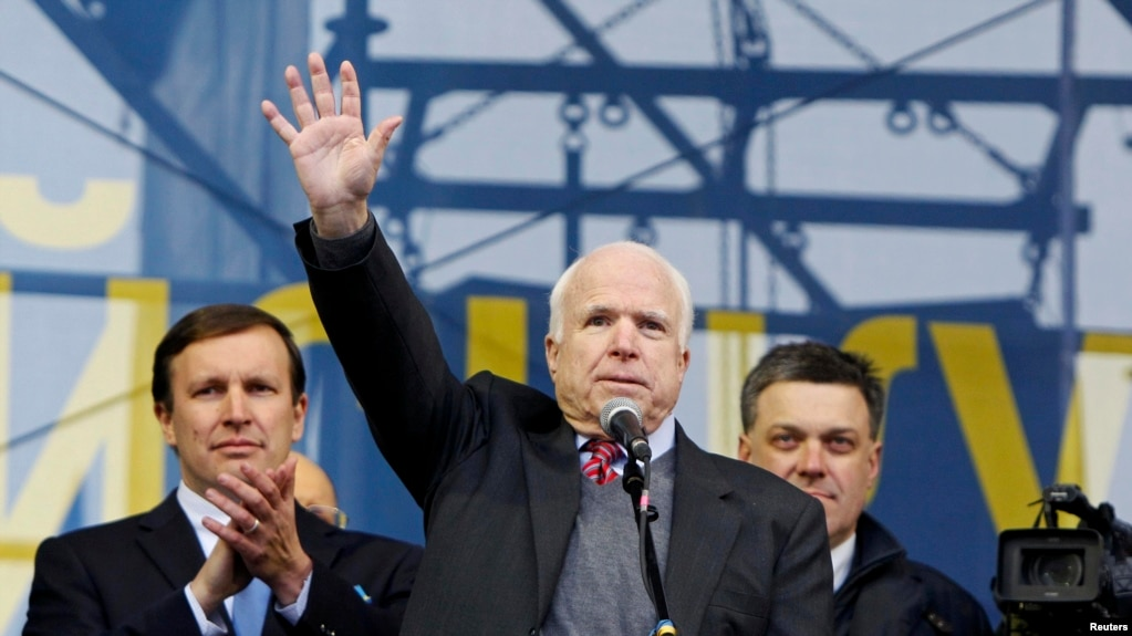 Image result for mccain in ukraine