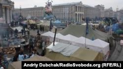 Киев, Евромайдан, 14 февраля 2014
