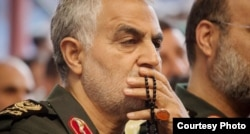 The commander of the IRGC's Quds Force, Qassem Soleimani (file photo)
