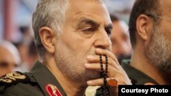 Major general Ghassem Soleimani, a powerful IRGC commander