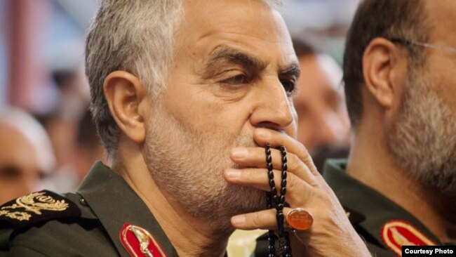 Qassem Soleimani (file photo)