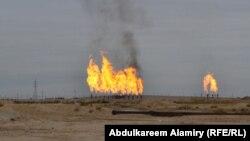 Iraq - Oil fields, Basra, undated