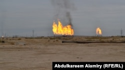 An Iraqi oil field near Basra (file photo)