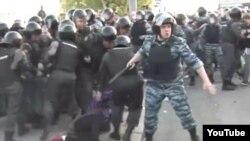 Москва. Полиция против оппозиции