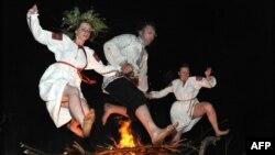 Традиционное празднование Ивана Купалы