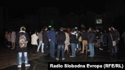 Студентски пленум во Скопје.