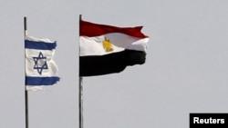 پرچمهای مصر و اسرائیل