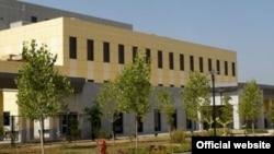 Здание посольства США в Душанбе.