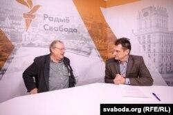 Адам Міхнік і Віталь Цыганкоў