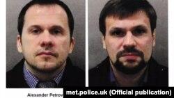 Британские власти назвали имена подозреваемых: Александр Петров и Руслан Боширов