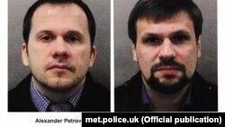 Британские власти назвали имена подозреваемых: Александр Петров и Руслан Боширов.