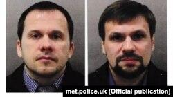 У скоєнні нападу британська поліція підозрює двох росіян з іменами «Руслан Боширов» і «Олександр Петров». Британська влада заявляє, що це співробітники російської розвідки