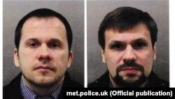 Rusiya hərbi kəşfiyyatının zabitləri hesab edilən Anatoly Chepiga və Aleksandr Mishkin