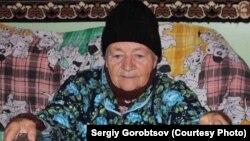 Пацієнтка хоспісу у селі Греково-Олександрівка (окупована територія). Фото Сергія Горобцова