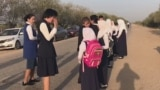 Kazakh Students Defy Head-Scarf Ban