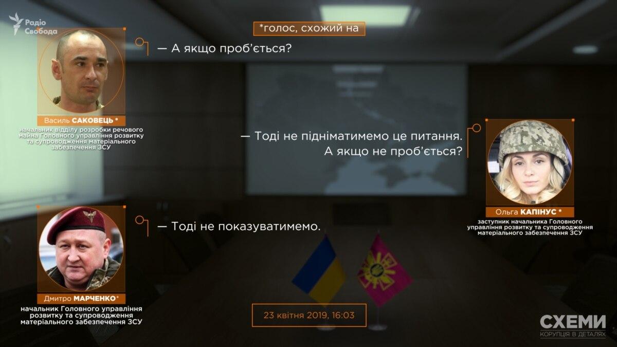 «Дело Марченко»: «Схемы» опубликовали записи из кабинетов Минобороны по закупке «бронежилеты, которые простреливаются»