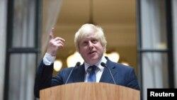 Sekretari i Jashtëm i Britanisë, Boris Johnson