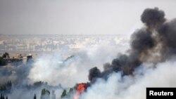 Lartësitë Golan, 6 qershor 2013.