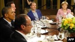"""Ужин в рамках нынешнего саммита """"восьмерки"""""""
