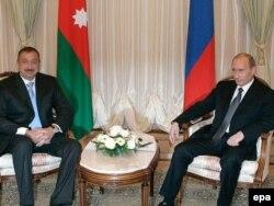 İ.Əliyev və V.Putin, 2007