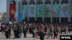 Obeležavanje godišnjice Revolucije tulipana jedne od prošlih godina