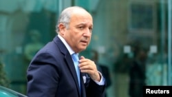 لوران فابيوس، وزير امور خارجه فرانسه