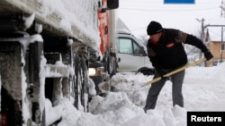 A cold snap has been causing disruption throughout the Balkans. (file photo)