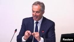 Тони Блэр отвечает на вопросы парламентской комиссии