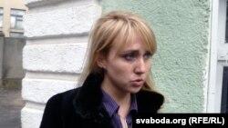 Марына Кавалеўская, адвакат Саньнікава