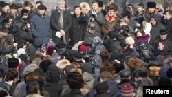 Акция протеста казахстанской оппозиции. Иллюстративное фото.