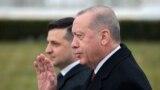 Volodımır Zelenskıy ve Recep Tayip Erdoğan