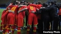 Архивска фотографија: Фудбалската репрезентација на Македонија