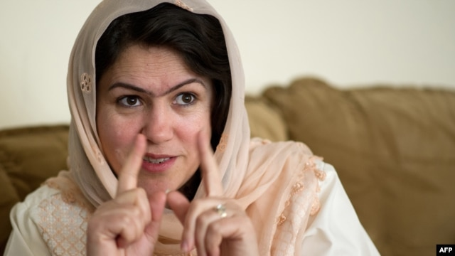 Some observers have expressed concern that a new women's political movement led by influential lawmaker Fawzia Koofi (pictured) could be used as an electoral tool by its male backers.