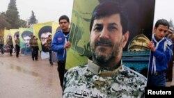 ХIасан Хауло аль-Лакисил суратгун зигардулел ливаниял. 2013 соналъул 4 декабрь.