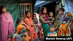 Бангладештеги качкындар лагери. 16-январь, 2018-жыл.