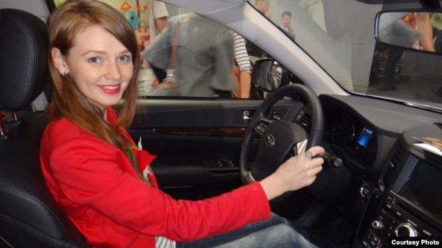 Yekaterina Kondratyeva says the economic crisis made her new car much more expensive.