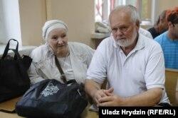 Бацькі Зьмітра Галко, Тацяна і Мікалай Галко, у судзе