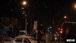 سیل در کرمان