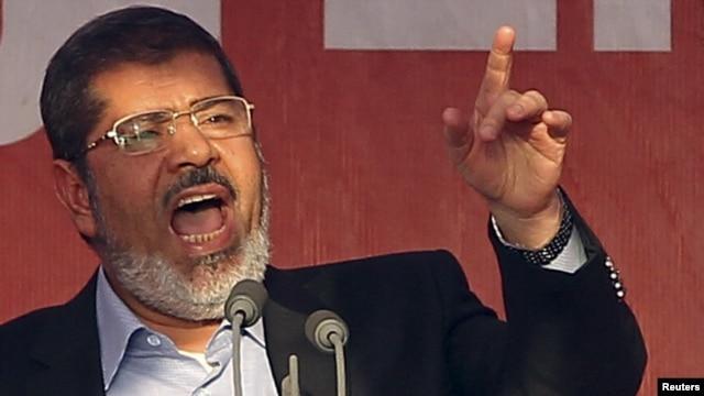 Egyptian President Muhammad Mursi