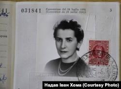 Ольга Коновалець (Федак), дружина полковника Євгена Коновальця