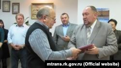 Ігор Коробчук (праворуч)