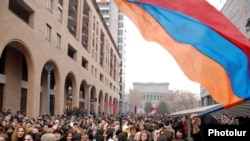 Unrest followed Armenia's February 2008 presidential election.