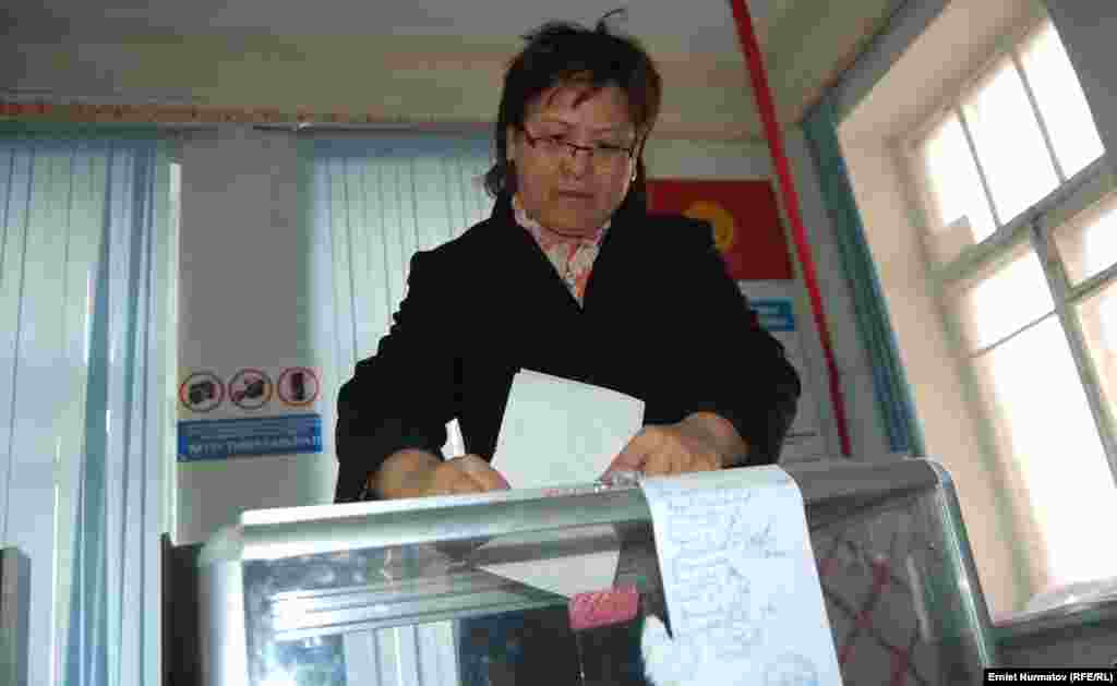 Kyrgyzstan - Election in Osh, 4March2012